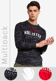 hollister multipack t shirt gift set