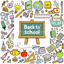 Ilustración de Elementos De Back To School Design Colorido Vector Doodle  Dibujo Animado Conjunto y más Vectores Libres de Derechos de Acontecimiento  - iStock