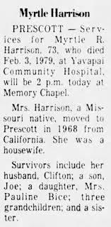 Myrtle Rose Scott Harrison - Newspapers.com