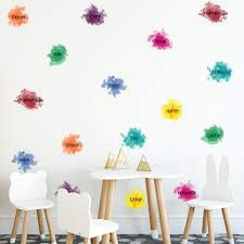 Amazon Com Playroom Wall Decal Colorful Inspirational Quotes Wall Sticker For Bedroom Classroom Nursery Kids Room Decor Peel And Stick Lettering Wall Decals Mural Positive Words Classroom Nursery Decorations Arts Crafts Sewing