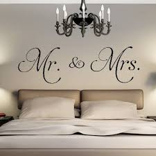 1pc Vinyl Mr Mrs Wall Stickers For Bedroom Living Room Decoration Modern Home Decor Removable Decal Diy Wedding Room Supplies Home Decor Pvc Wall Stickerwall Sticker Aliexpress