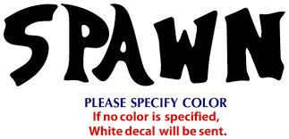 Spawn Game Tv Movie Funny Jdm Vinyl Sticker Decal Car Window Bumper Wall 8 For Sale Online