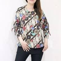 Model setelan kebaya peplum terbaru dengan atasan blouse batik kebaya peplum dan bawahan rok span. Jual Model Baju Batik Lengan Panjang Wanita Terbaru Murah Harga Terbaru 2020
