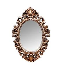 frames oval mirror antique gold