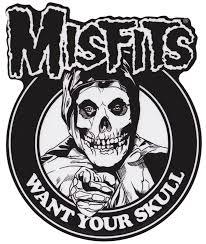 Misfits I Want Your Skull Sticker Misfits Skull Punk Poster Misfits Tattoo