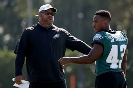 After being bypassed for promotion twice, Eagles RBs coach Duce Staley  should be unhappy, but he's