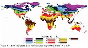 plant hardiness zones maps