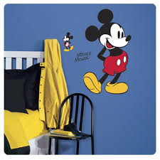 Mickey Mouse Peel And Stick Giant Wall Decals