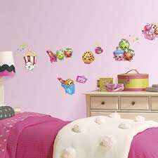 Roommates Shopkins Peel And Stick Wall Decals Amazon Com