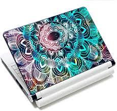 Amazon Com Laptop Skin Vinyl Sticker Decal 12 13 13 3 14 15 15 4 15 6 Inch Laptop Skin Sticker Cover Art Decal Protector Fits Hp Dell Lenovo Compaq Apple Asus Acer Mandala Arts Arts