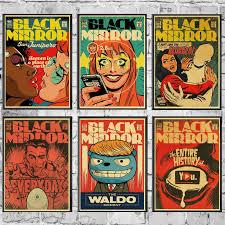 classic black mirror poster
