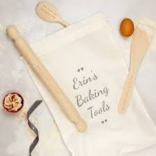 personalised baking set by rocket and