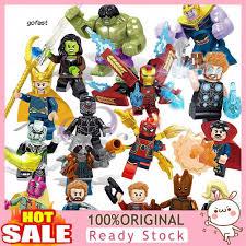 Set 16 Mô Hình Đồ Chơi Lắp Ráp Lego Siêu Anh Hùng Avengers, giá chỉ  181,000đ! Mua ngay kẻo hết!