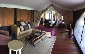 Family Tent View Across Living Room And Into Kids Room Picture Of Mara Intrepids Luxury Tented Camp Maasai Mara National Reserve Tripadvisor