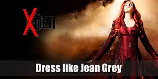 jean grey costume for cosplay
