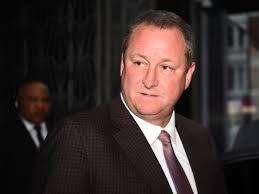 Sports Direct boss Mike Ashley ...