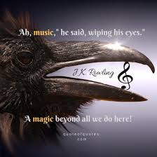 j k rowling harry potter quote ah music quote of quotes