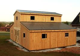 horse barn designs with living quarters