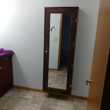 diy bathroom mirror storage case