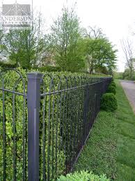 Wrought Iron Fence Custom Or Pre Designed Anderson Ironworks