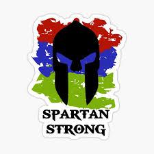 Spartan Race Stickers Redbubble