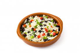 traditional cuban rice black beans and