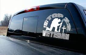 Kneeling Soldier Stop 22 Veteran Suicide Awareness Outdoor Window Decal Sticker Ready To Apply Sold By Big Tees Printing On Storenvy