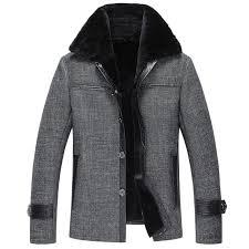 mens fur coat men s shearling coat