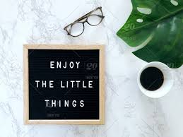 💐✨🏆 signature collection 🏆✨💐 enjoy the little things quote