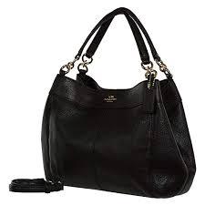 black coach handbags com