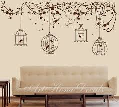 Nature Wall Decal Birds Wall Decal Branch Wall Por Arthomedecals Wall Decal Branches Bird Wall Decals Wall Stickers Birds