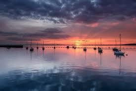england bay yachts evening