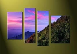 multiple piece canvas wall art