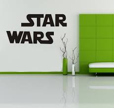 Tgsik Diy Famous Star Wars Large Vinyl Removable Home Decor Art For Kids Bedroom Baby Nursery Wall Decals Sticker Home Decorations Black On Star Wars