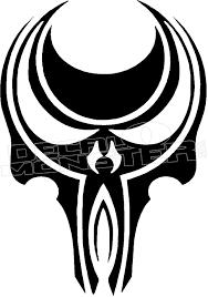 Horde Skull 11 Decal Sticker Decalmonster Com