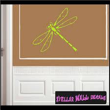 Dragon Fly Bug Bugs Insect Vinyl Wall Decal Wall Mural Car Sticker Bugcf23009 Swd