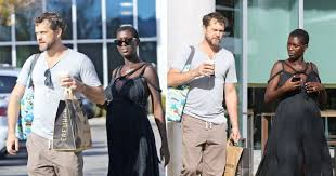 Joshua Jackson and Jodie Turner-Smith grocery shop before Golden ...