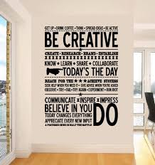 Inspiring Decor For The Office Be Creative Wall Sticker Available From Http Crazysexycool Co Za Sh Cool Office Space Creative Office Space Cool Office