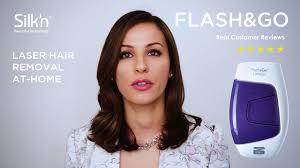 silk n flash go express hair removal