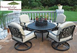 dwl lillian cast aluminum outdoor patio