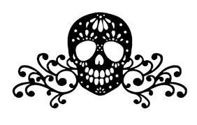 Candy Skull Decal Candy Skull Decal Skull Vinyl Decal Etsy In 2020 Skull Decal Candy Skulls Vinyl Decals