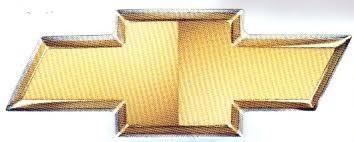 Chevrolet Gold Truck Bowtie Decals