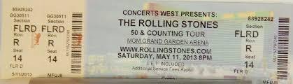 158 best original used concert tickets