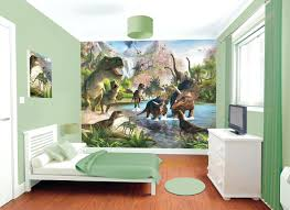 Rooms To Go Television Stand Kids Room Decor Grand Fonds D Ecran Kid Dinosaur Room Green Wall White Windows Green Hanging Lamp White Television Stand Black Television Green Blaket White Bed Et Walnut