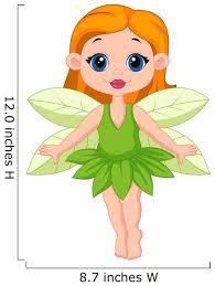 Cute Fairy Cartoon Wall Decal Wallmonkeys Com