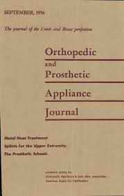 Orthopedic Prosthetic Appliance Journal