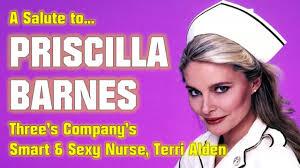 A Salute to Priscilla Barnes - Three's Company's Terri Alden - YouTube