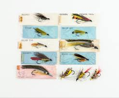 12 Early Ora Smith Flies | Lang's Auction Inc.
