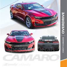 Chevy Camaro Ss Stripes Overdrive 19 Rally Decals Vinyl Graphics 2019 Premium And Supreme Install Speedycardecals Fast Car Decals Auto Decals Auto Stripes Vehicle Specific Graphics