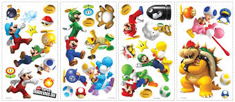 Buy Super Mario Wii Wall Decal Cutouts In Cheap Price On Alibaba Com